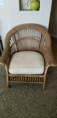 Raton and Wicker Arm Chair Scottsdale, 85251