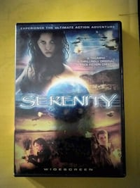 Serenity DVD Movie!