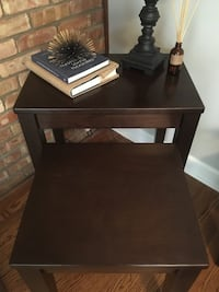 Wood Nesting Tables, Side Tables, Accent Tables