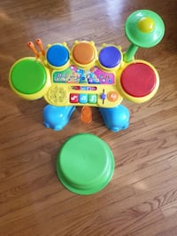 VTECH STOMPING FUN DRUM SET