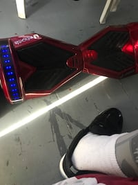 Hoverboard with Bluetooth speaker  53 km