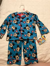 Mickey Mouse Roadster Racer Pajamas Alabaster, 35007