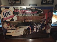 Miller Lite Racing over the wall poster