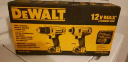 PRICE IS FIRM. BRAND NEW DEWALT COMPACT DRILL/DRIVER/ IMPACT DRIVER