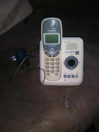 white and gray Vtech wireless telephone Lowell, 01852