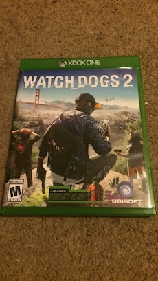xbox one watch dogs 2 game