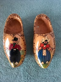 Decorative Hand-made Dutch Wooden Shoes Lewes, 19958