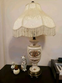 white and pink table lamp Lorton, 22079