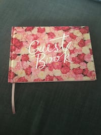 Wedding or shower Guest signing book