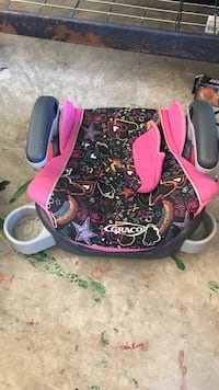 Black and pink graco booster seat Prosper, 75078