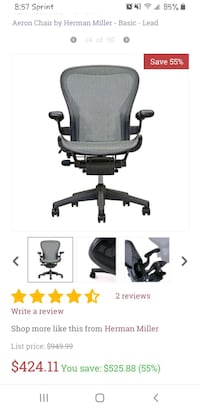 Herman Miller - Aeron Chair