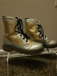 Gold + silver boots, great for cosplay. Need gone ASAP. PICK UP ONLY Greenbelt, 20770