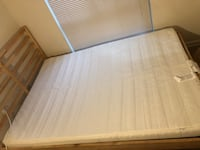 Mattress, frame, all accessories  Falls Church, 22042