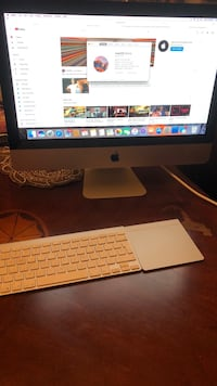 silver iMac with Apple Magic Keyboard and Magic Mouse Montréal, H4R 1M9