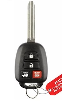 2010-2015 Toyota G or H Chip Remote Key Programming Bothell