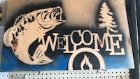Welcome print signage