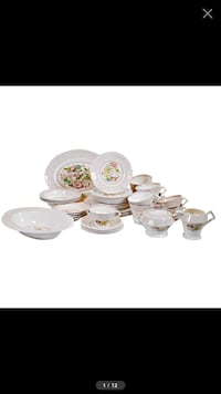 Eloquent Swing Time China Set Made in England 367 mi