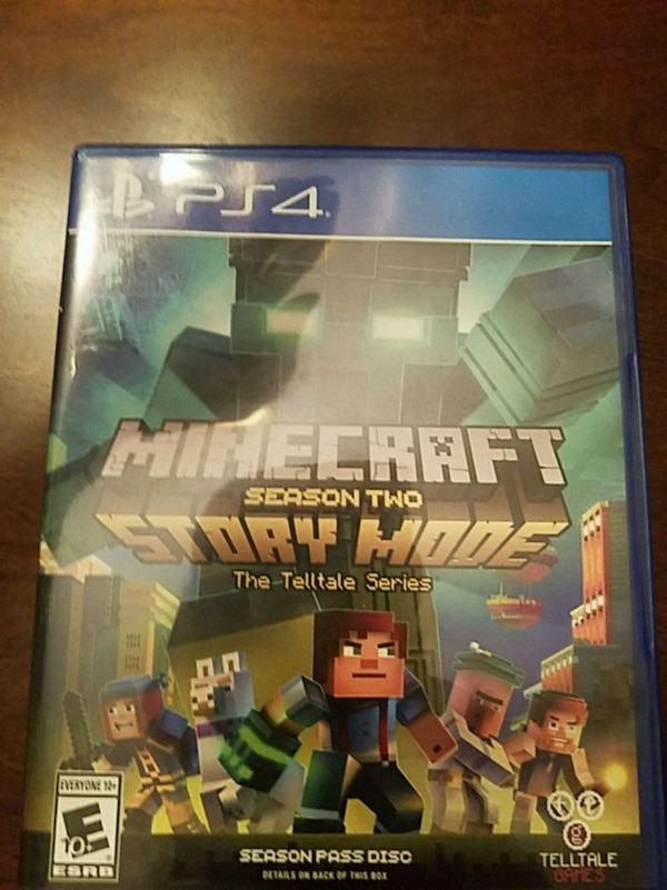 Used Minecraft Story Mode Season Two Season Pass Game Ps4 For Sale