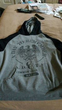 A Day to Remember hoodie (worn) Los Angeles, 91343