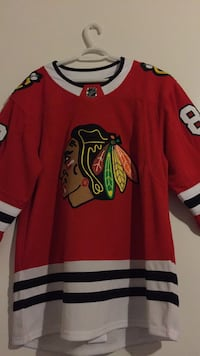 red and black Chicago Bulls jersey Winnipeg, R3A 0J2