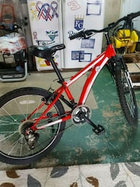 red and black hardtail mountain bike Raytown, 64133