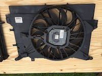 1999-2006 Volvo S60 Radiator Cooling Fan, AC Condenser and frame Hurlock, 21643