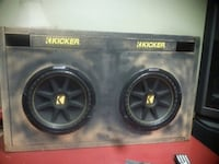 black Kicker subwoofer with enclosure Mount Airy, 30563