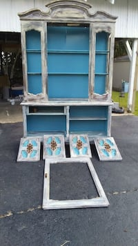white and blue wooden cabinet Houma, 70364