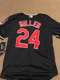 black and red Miller 24 jersey Auburn, 36832
