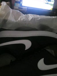 Low top NIKE shoes.