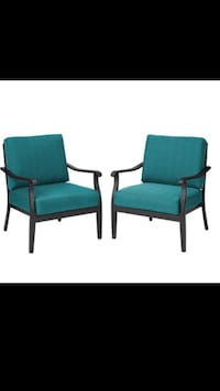 Patio chairs set of 2 BRAND NEW IN BOX ! Woodbury, 08096
