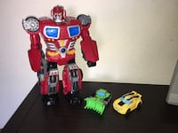 3 transformers action figures