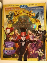 Alice though the looking glass blu-ray