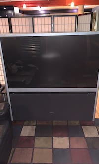 """65"""" and 46"""" Projection TV, two TV deal."""