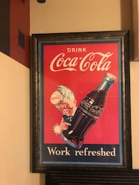 Coca-Cola Work Refreshed poster North Las Vegas, 89084