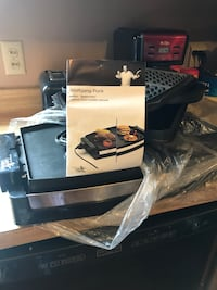 Wolf gang puck indoor grill will all parts. Only used once Pineville, 71360