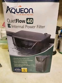 Aqueon 40 Internal aquarium filter Frederick