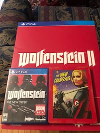 Wolfenstein New Colossus Collectors Edition Woodbridge, 22191