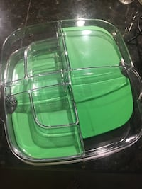 New pampered chef large cooling serving tray