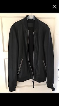 All saints leather jacket  Manchester, M23 9FA