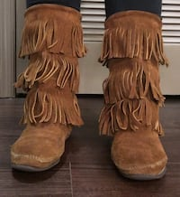 Sz 8 Brown Fringe Boots Woodbridge, 22191