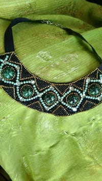 Beautiful beaded necklace. New.