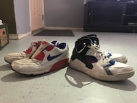 Two pairs of sneakers