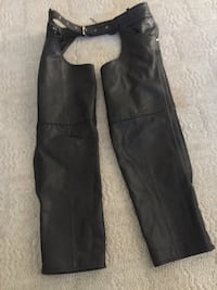 Leather motorcycle chaps. Size 3xl. Run small. Great condition Henderson, 89012