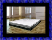 Singlesided pillowtop mattress with box spring 46 km