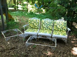 Outdoor furniture new cushions