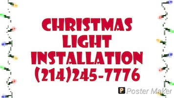 Professional Christmas light installation