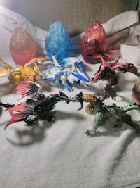 Mega Bloks Dragons Universe dragon action figures