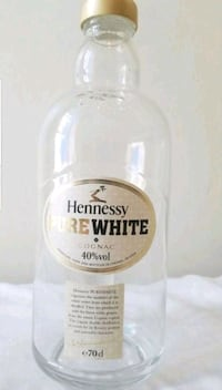Pure white Hennessy(unopened Full Bottle) Columbia