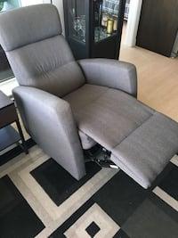 gray fabric padded sofa chair Coquitlam, V3K